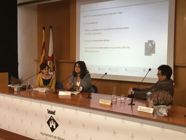 El CAP de Sitges i els serveis socials de l'Ajuntament de Sitges impulsen un model de treball col·laboratiu