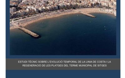 L'Ajuntament posa sobre la taula dos estudis de les platges de Sitges