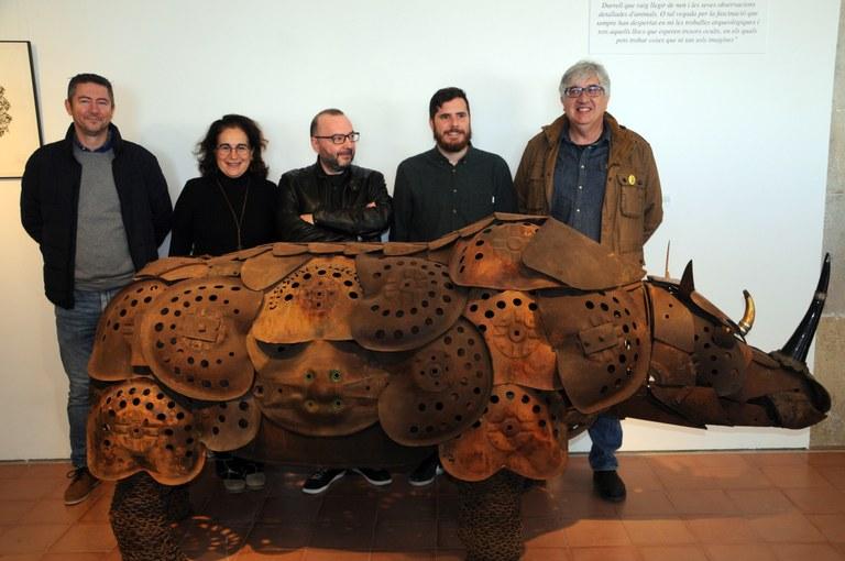 """La mostra """"Espècies protegides"""" de Miquel Aparici enceta el cicle d'exposicions del 2020 al Centre Cultural Miramar"""