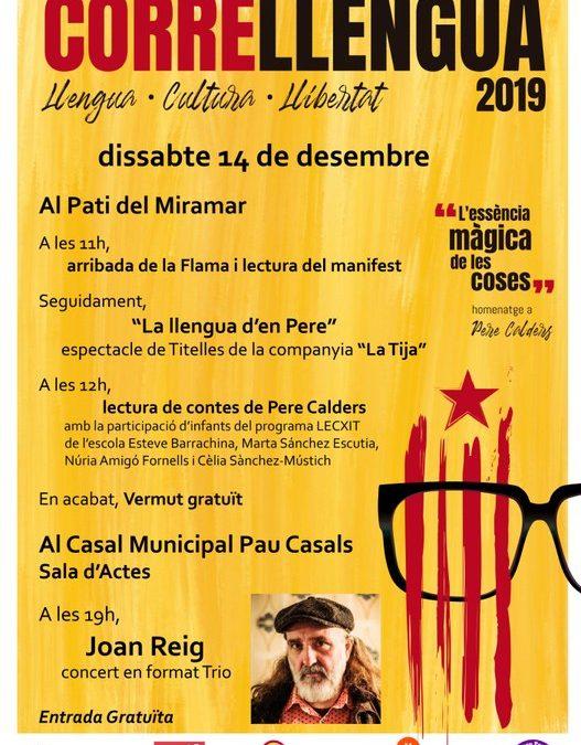 Sitges celebrarà el Correllengua 2019 aquest dissabte
