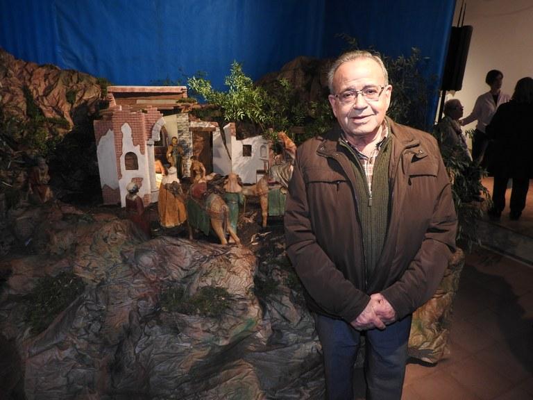 El pessebrista Josep Aleacar Casanovas tindrà una placa a la plaça dels Artistes