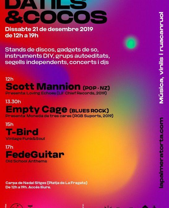 Sitges celebrarà el 21 de desembre la primera edició de la Fira Musical Dàtils & Cocos