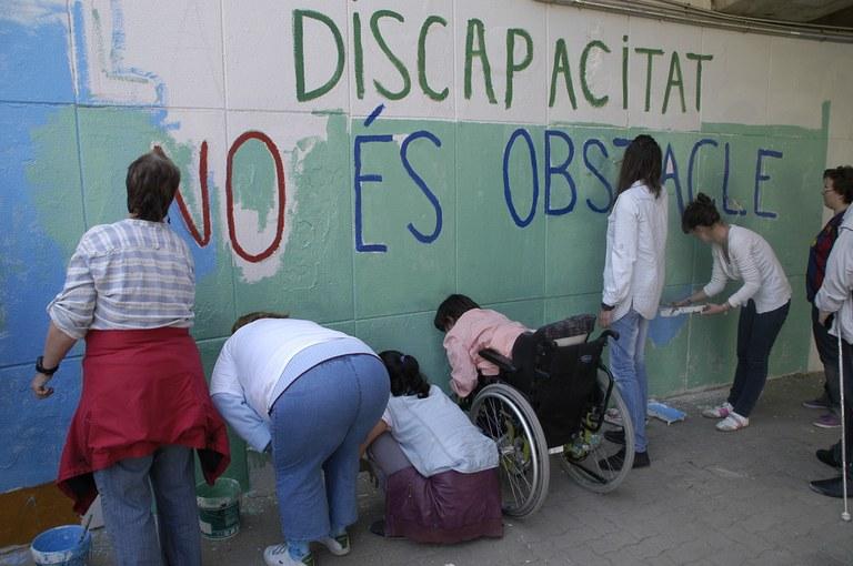 La regidoria de Drets Socials ofereix un programa d'acompanyament per a persones amb diversitat funcional