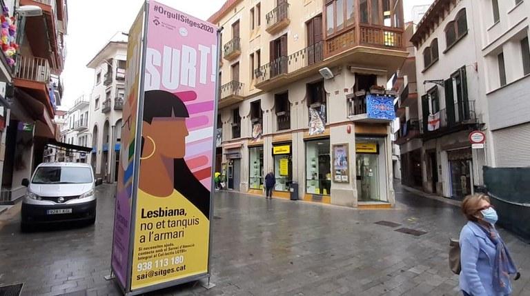 L'Ajuntament de Sitges commemora l'Orgull LGTBI amb una campanya post-confinament