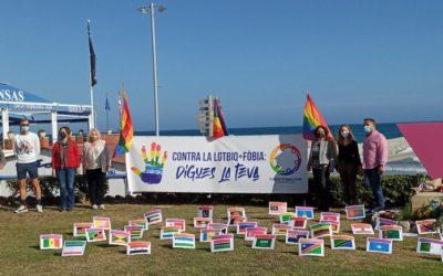 Sitges se suma a la commemoració del Dia Internacional contra la LGTBIfòbia